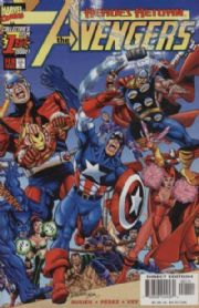 Avengers #1 (1998) Heroes Return Busiek Perez Marvel comic book